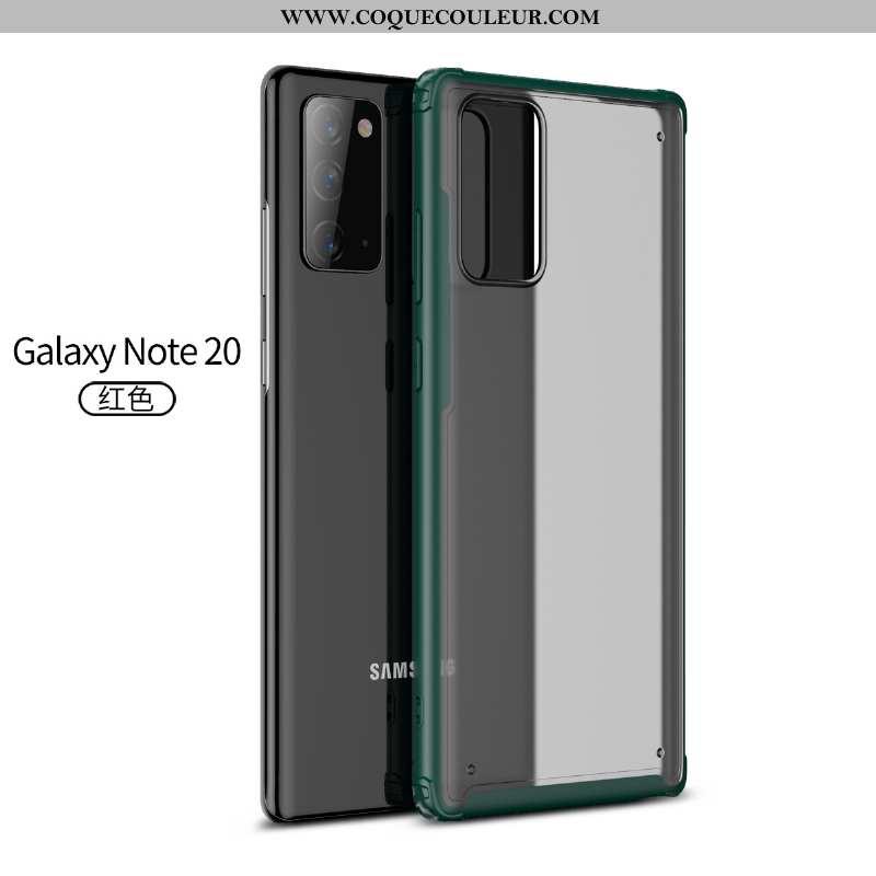 Coque Samsung Galaxy Note20 Délavé En Daim Légère Étoile, Housse Samsung Galaxy Note20 Personnalité