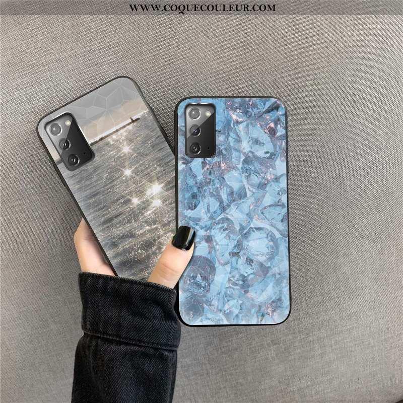 Housse Samsung Galaxy Note20 Modèle Fleurie Incassable Coque, Étui Samsung Galaxy Note20 Cœur Net Ro