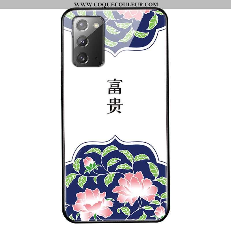 Coque Samsung Galaxy Note20 Tendance Protection Créatif, Housse Samsung Galaxy Note20 Fluide Doux St