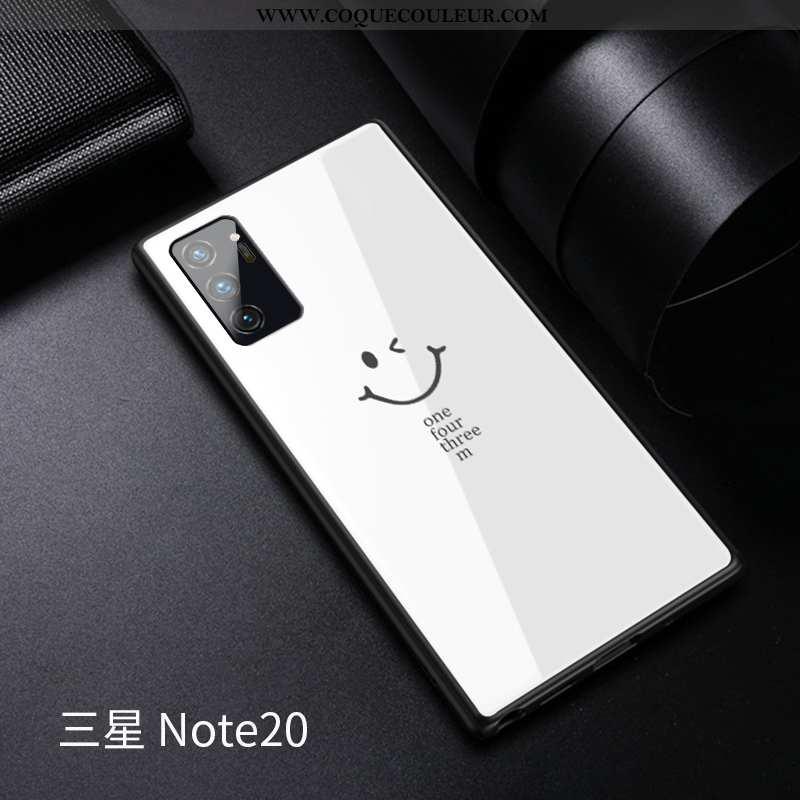 Coque Samsung Galaxy Note20 Verre Tempérer Incassable, Housse Samsung Galaxy Note20 Personnalité Tou