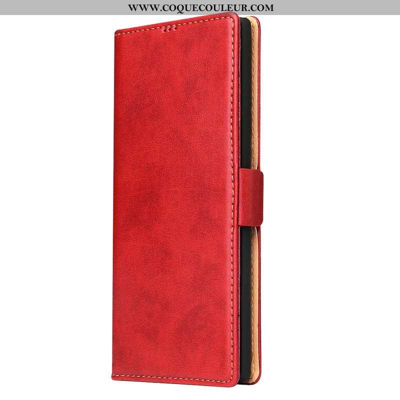 Housse Samsung Galaxy Note20 Ultra Cuir Véritable Téléphone Portable, Étui Samsung Galaxy Note20 Ult