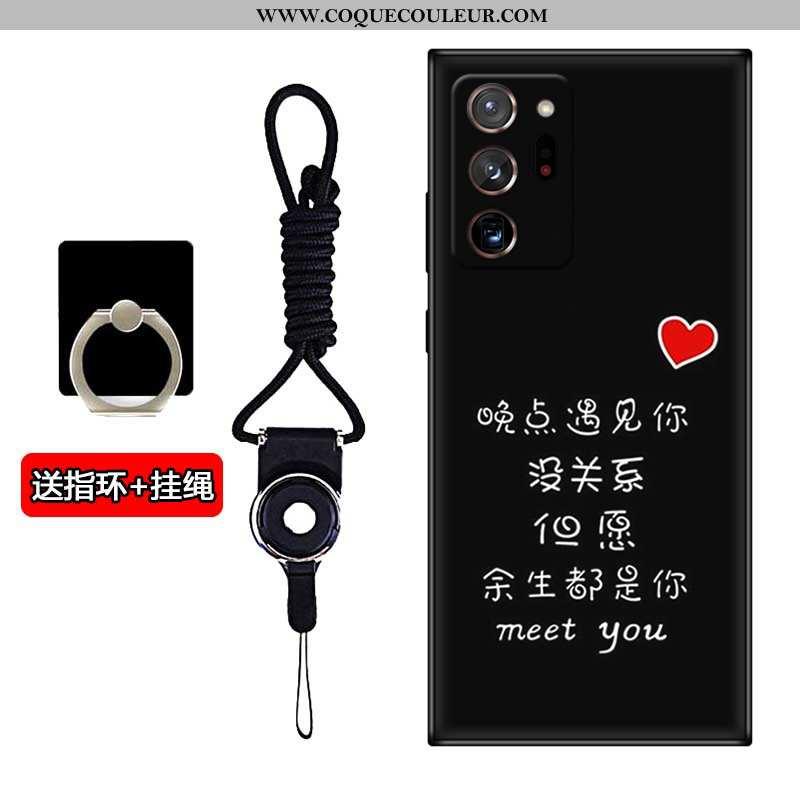 Housse Samsung Galaxy Note20 Ultra Silicone Personnalisé Étoile, Étui Samsung Galaxy Note20 Ultra Pr