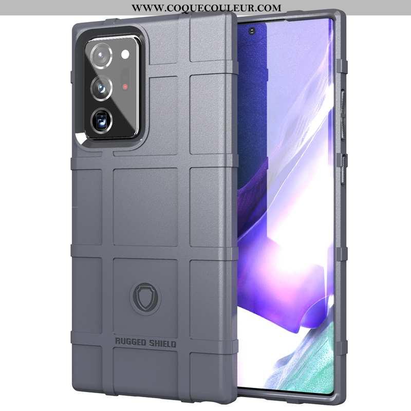 Étui Samsung Galaxy Note20 Ultra Silicone Délavé En Daim Coque, Coque Samsung Galaxy Note20 Ultra Pr