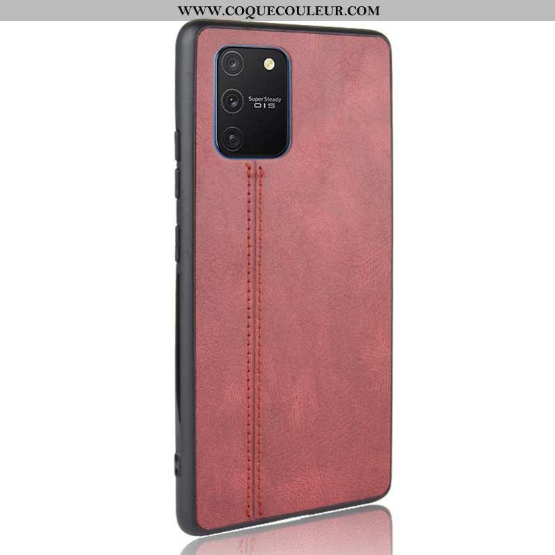 Étui Samsung Galaxy S10 Lite Modèle Fleurie Difficile Bovins, Coque Samsung Galaxy S10 Lite Protecti