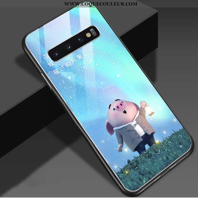 Housse Samsung Galaxy S10 Personnalité Téléphone Portable Petit, Étui Samsung Galaxy S10 Créatif Net