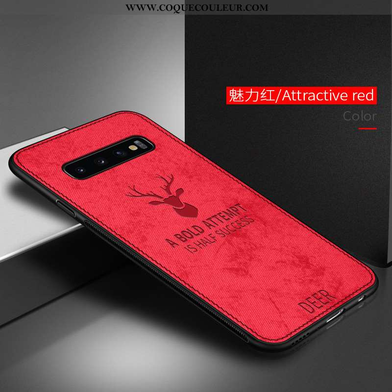 Housse Samsung Galaxy S10 Fluide Doux Étui Téléphone Portable, Samsung Galaxy S10 Silicone Protectio