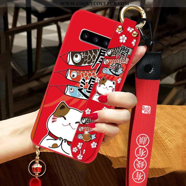Housse Samsung Galaxy S10+ Protection Tout Compris Coque, Étui Samsung Galaxy S10+ Tendance Téléphon
