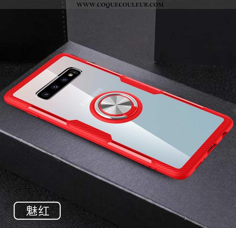 Étui Samsung Galaxy S10+ Protection À Bord Téléphone Portable, Coque Samsung Galaxy S10+ Transparent