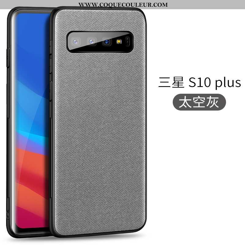 Housse Samsung Galaxy S10+ Légère Téléphone Portable Étoile, Étui Samsung Galaxy S10+ Modèle Fleurie