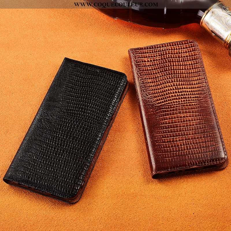 Étui Samsung Galaxy S10e Cuir Véritable Coque Protection, Samsung Galaxy S10e Cuir Nouveau Noir