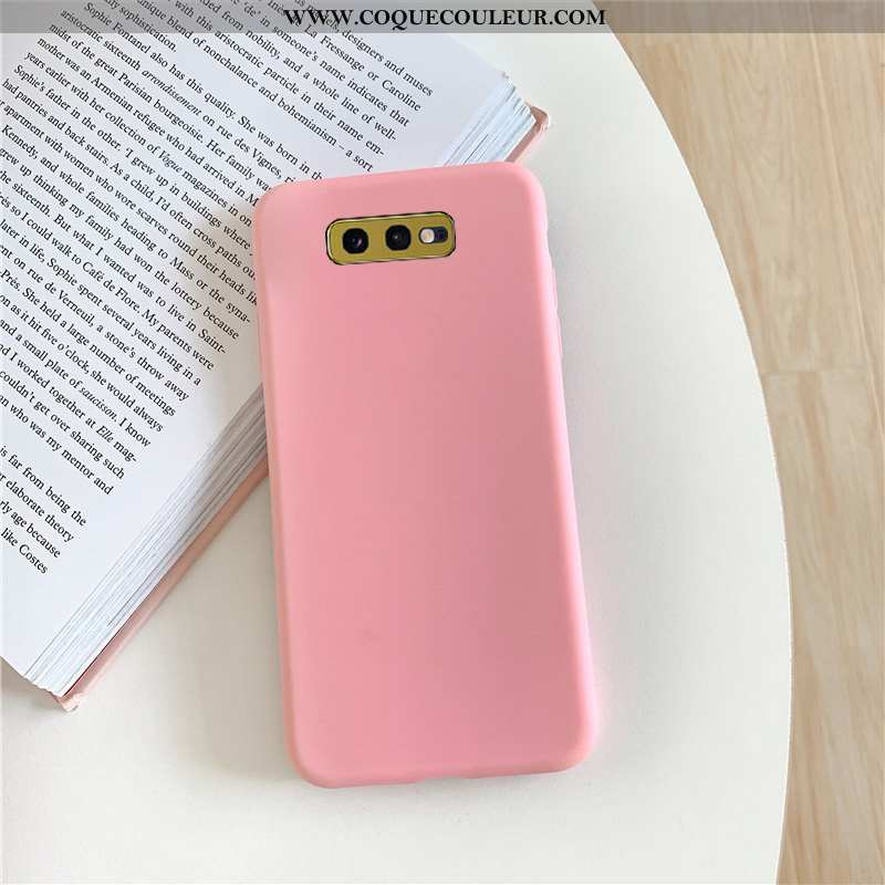 Coque Samsung Galaxy S10e Silicone Téléphone Portable Couleur Unie, Housse Samsung Galaxy S10e Mode