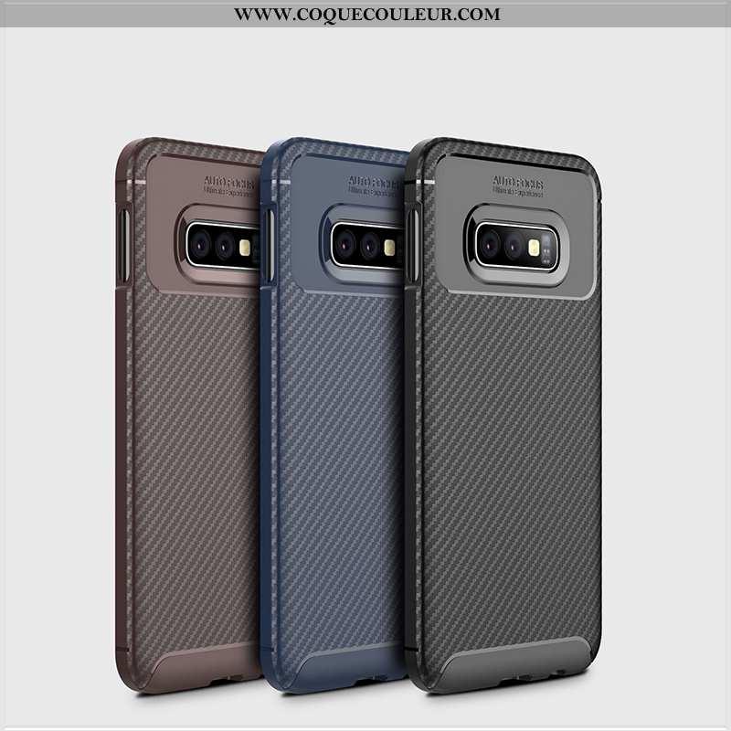 Étui Samsung Galaxy S10e Silicone Noir Coque, Coque Samsung Galaxy S10e Protection Incassable