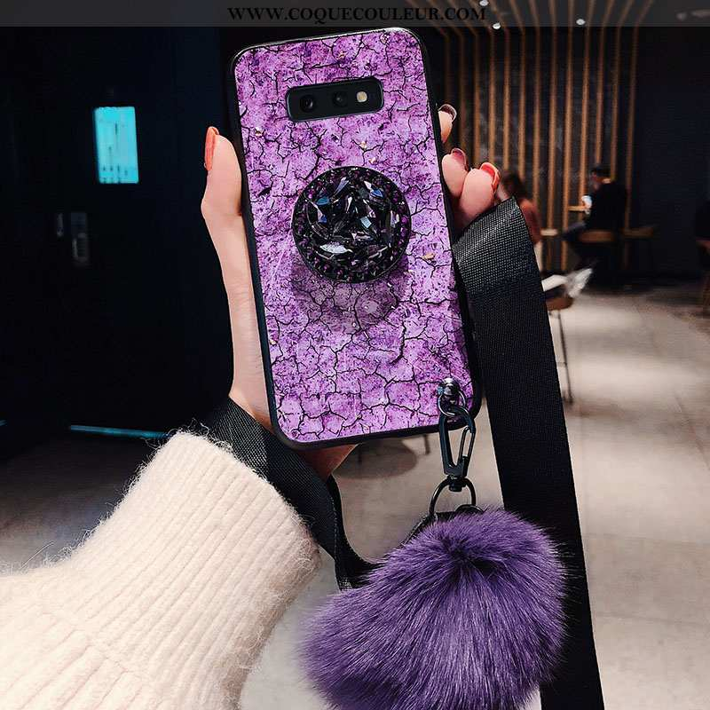Coque Samsung Galaxy S10e Protection Étui Fluide Doux, Housse Samsung Galaxy S10e Ornements Suspendu