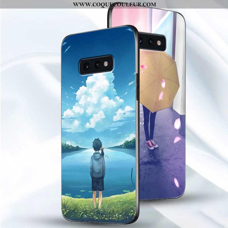 Coque Samsung Galaxy S10e Ultra Créatif, Housse Samsung Galaxy S10e Légère Étui Bleu