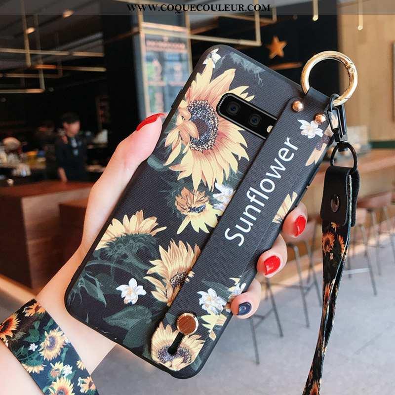 Housse Samsung Galaxy S10e Silicone Délavé En Daim Étui, Étui Samsung Galaxy S10e Protection Coque N