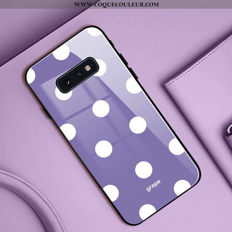 Housse Samsung Galaxy S10e Mode Étui Vent, Samsung Galaxy S10e Protection Simple Violet
