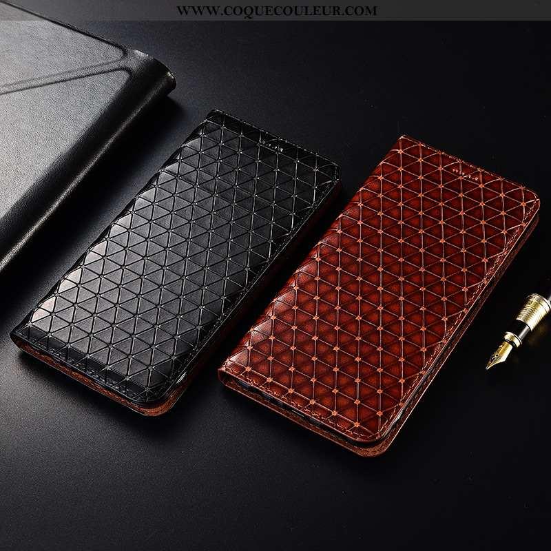 Étui Samsung Galaxy S10e Fluide Doux Incassable Cuir, Coque Samsung Galaxy S10e Protection Noir