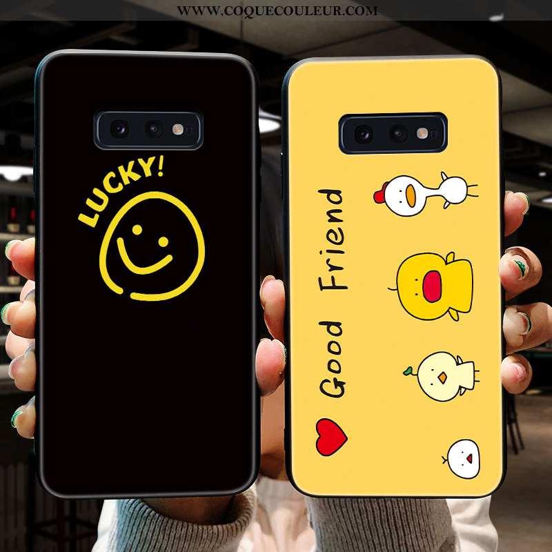 Housse Samsung Galaxy S10e Silicone Téléphone Portable Fluide Doux, Étui Samsung Galaxy S10e Délavé