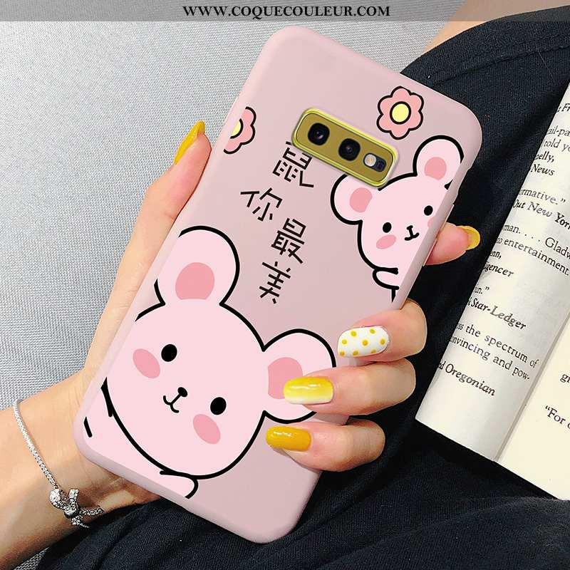 Housse Samsung Galaxy S10e Protection Coque Créatif, Étui Samsung Galaxy S10e Délavé En Daim Tendanc