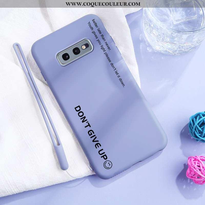 Housse Samsung Galaxy S10e Créatif Légère Bleu, Étui Samsung Galaxy S10e Ultra Tout Compris Bleu