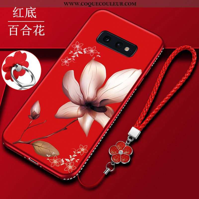 Housse Samsung Galaxy S10e Protection Coque Tendance, Étui Samsung Galaxy S10e Délavé En Daim Silico