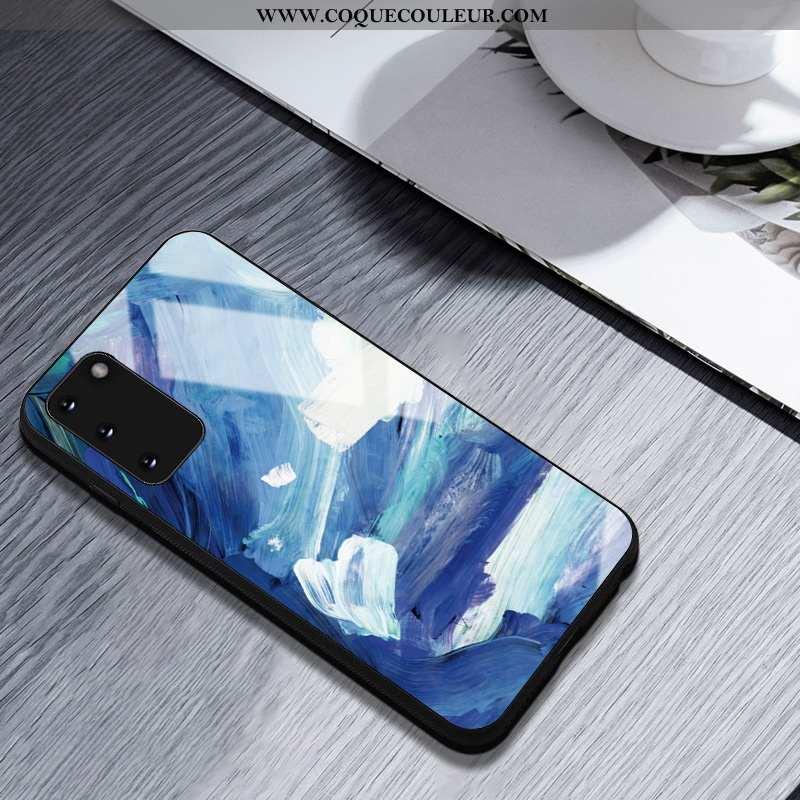 Coque Samsung Galaxy S20 Créatif Personnalité, Housse Samsung Galaxy S20 Silicone Peinture À L'huile