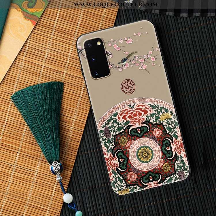 Coque Samsung Galaxy S20 Créatif Personnalité Légère, Housse Samsung Galaxy S20 Ultra Nouveau Gris