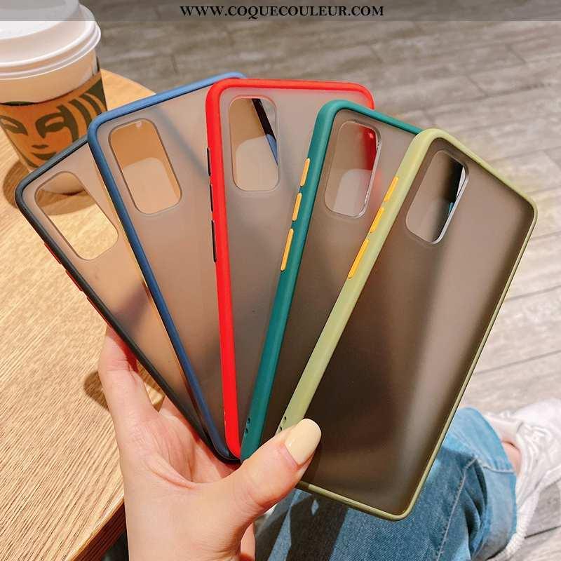 Housse Samsung Galaxy S20 Personnalité Étoile Tendance, Étui Samsung Galaxy S20 Créatif Rouge