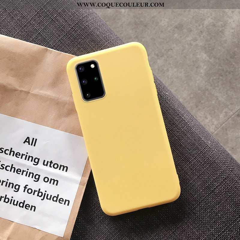 Housse Samsung Galaxy S20+ Tendance Incassable Coque, Étui Samsung Galaxy S20+ Légère Couleur Unie J