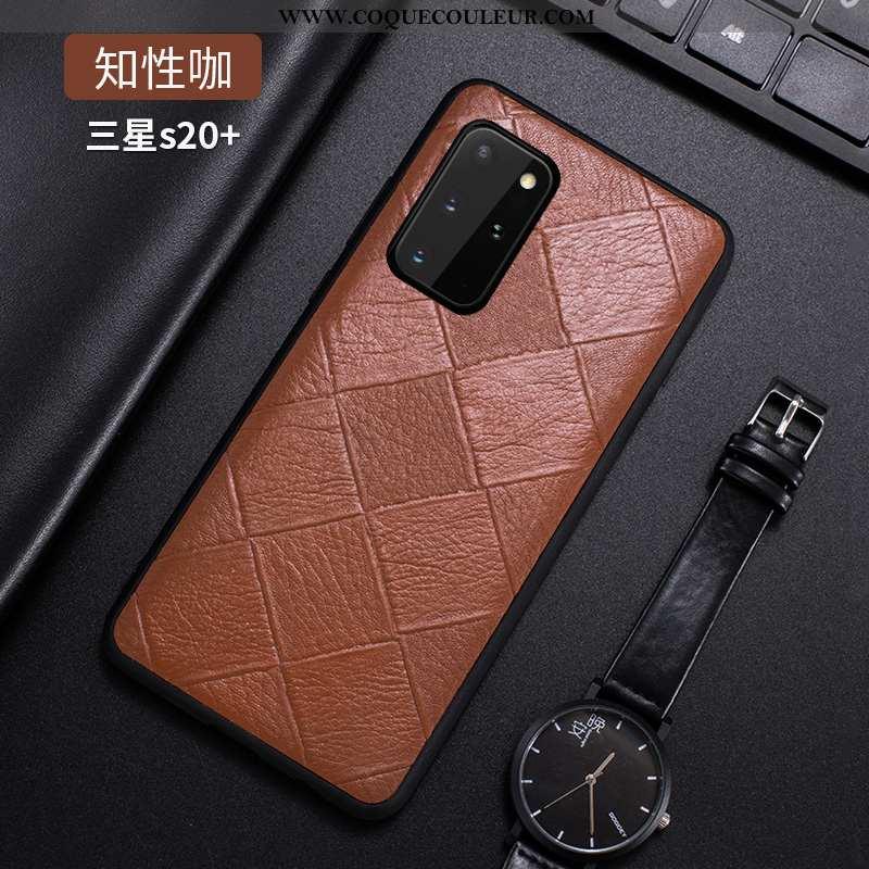 Étui Samsung Galaxy S20+ Personnalité Téléphone Portable Fluide Doux, Coque Samsung Galaxy S20+ Créa