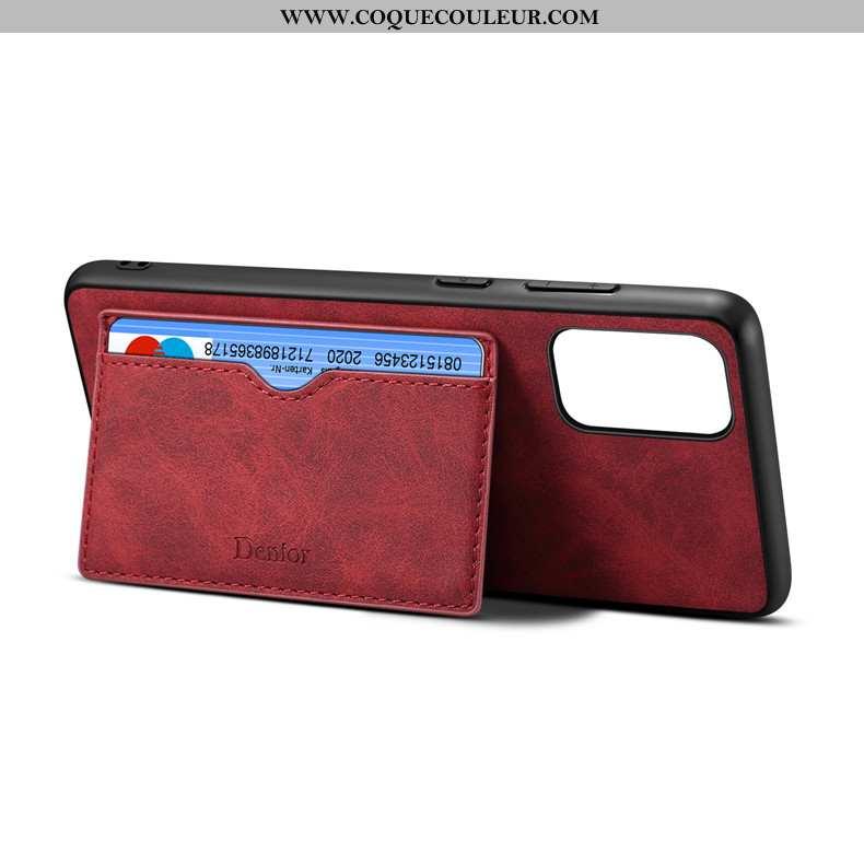 Coque Samsung Galaxy S20+ Légère Étui, Housse Samsung Galaxy S20+ Fluide Doux Support Rouge