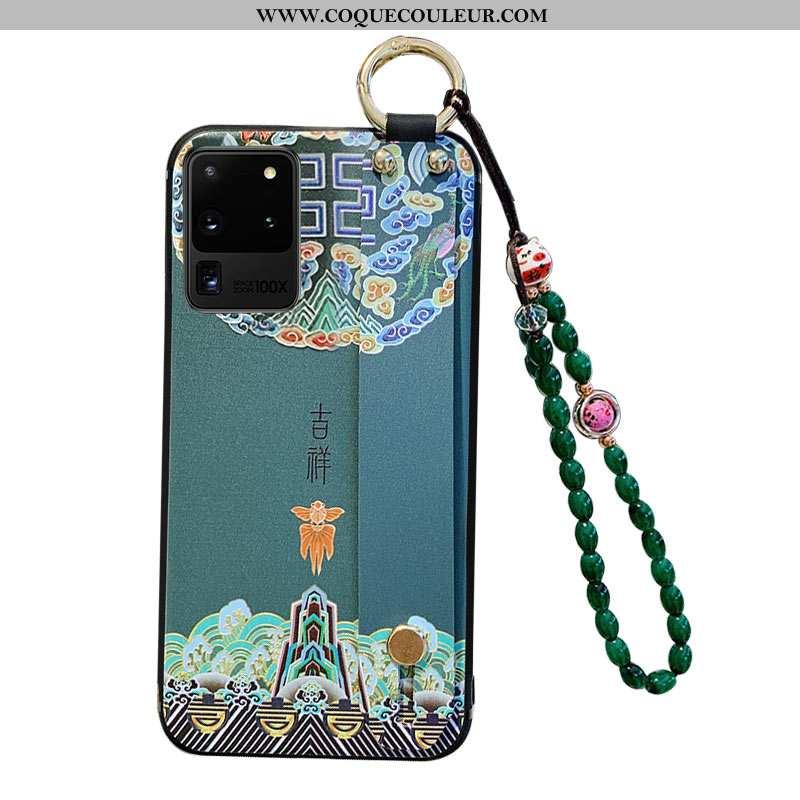 Étui Samsung Galaxy S20 Ultra Silicone Téléphone Portable, Coque Samsung Galaxy S20 Ultra Protection