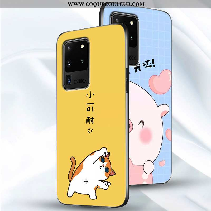 Housse Samsung Galaxy S20 Ultra Tendance Coque Étui, Étui Samsung Galaxy S20 Ultra Légère Incassable