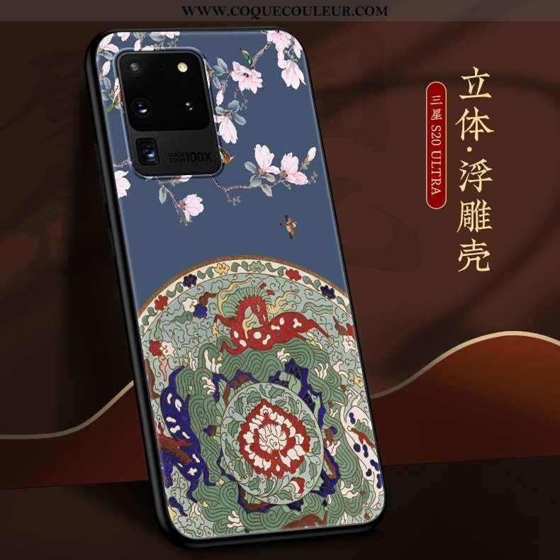 Housse Samsung Galaxy S20 Ultra Légère Étui Coque, Samsung Galaxy S20 Ultra Fluide Doux Tendance Ble