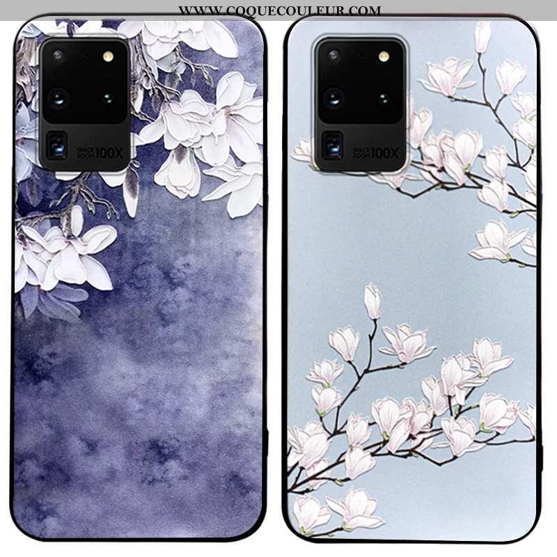 Étui Samsung Galaxy S20 Ultra Tendance Téléphone Portable Silicone, Coque Samsung Galaxy S20 Ultra F