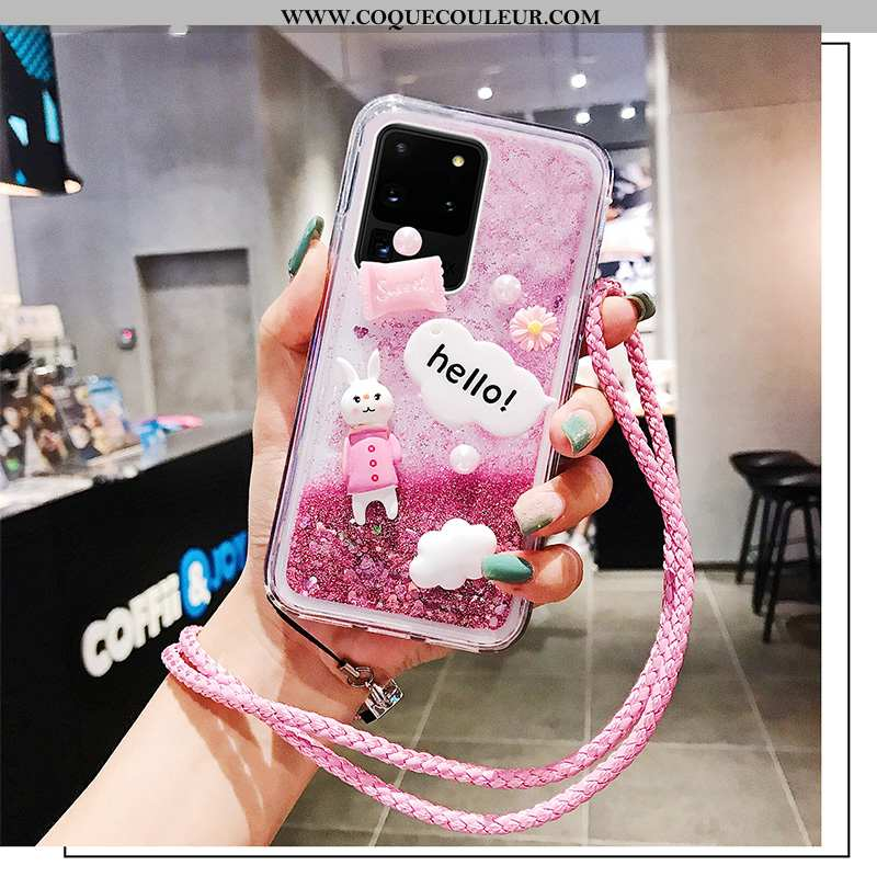 Coque Samsung Galaxy S20 Ultra Créatif Délavé En Daim Étoile, Housse Samsung Galaxy S20 Ultra Tendan