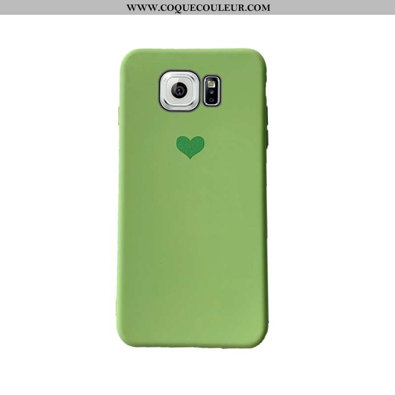 Housse Samsung Galaxy S6 Edge Protection Étui Net Rouge, Samsung Galaxy S6 Edge Personnalité Incassa