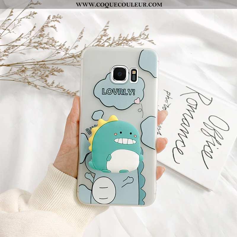 Étui Samsung Galaxy S6 Edge Créatif Personnalité Tout Compris, Coque Samsung Galaxy S6 Edge Dessin A