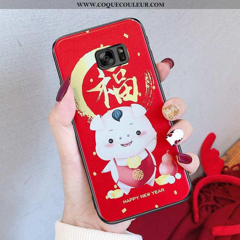 Housse Samsung Galaxy S6 Charmant Téléphone Portable Étoile, Étui Samsung Galaxy S6 Fluide Doux Sili