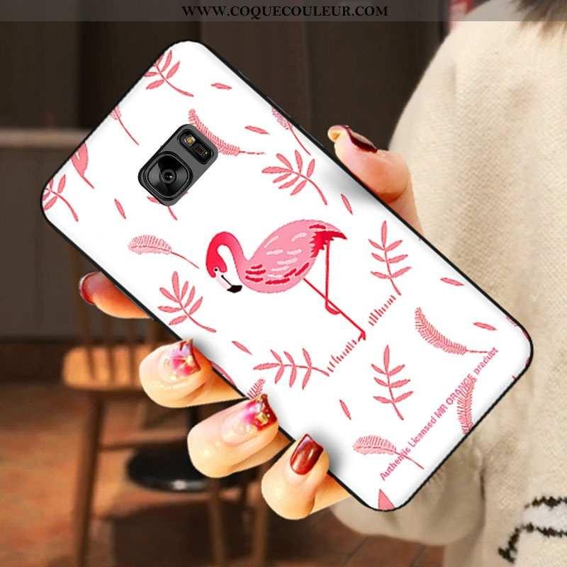Housse Samsung Galaxy S6 Charmant Étoile Téléphone Portable, Étui Samsung Galaxy S6 Fluide Doux Sili