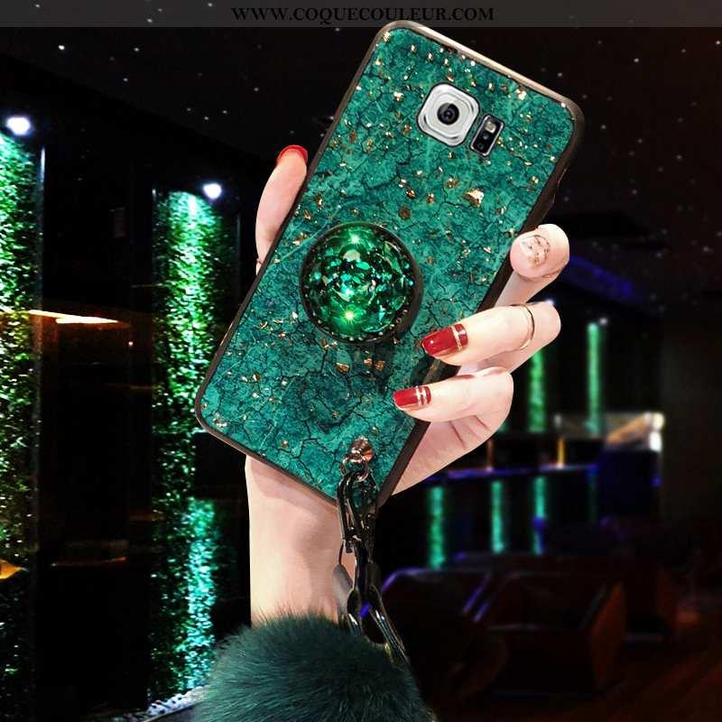 Étui Samsung Galaxy S6 Silicone Support Téléphone Portable, Coque Samsung Galaxy S6 Protection Incru