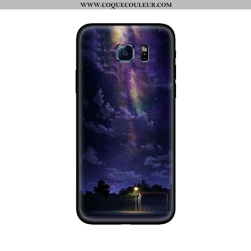 Housse Samsung Galaxy S6 Délavé En Daim Amoureux Coque, Étui Samsung Galaxy S6 Personnalité Tendance