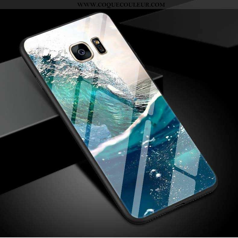 Coque Samsung Galaxy S7 Edge Clair Téléphone Portable Grand, Housse Samsung Galaxy S7 Edge Naturel S