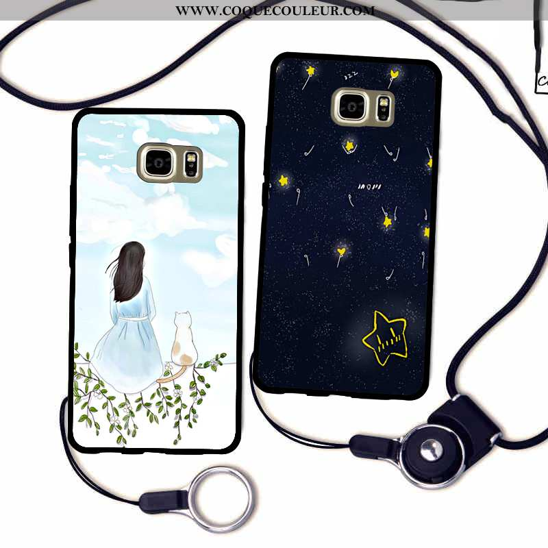 Étui Samsung Galaxy S7 Edge Silicone Étoile Tout Compris, Coque Samsung Galaxy S7 Edge Protection Té