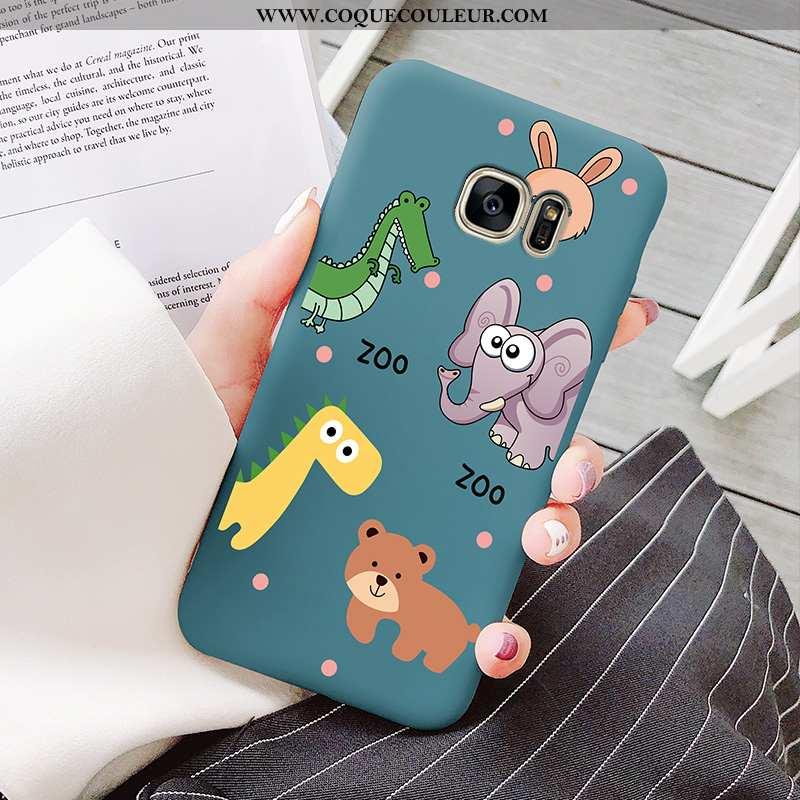 Étui Samsung Galaxy S7 Edge Tendance Créatif Dessin Animé, Coque Samsung Galaxy S7 Edge Légère Télép