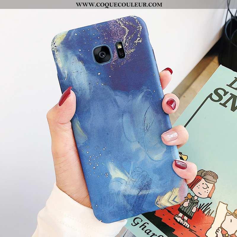 Étui Samsung Galaxy S7 Edge Créatif Personnalité Arc En Ciel, Coque Samsung Galaxy S7 Edge Charmant