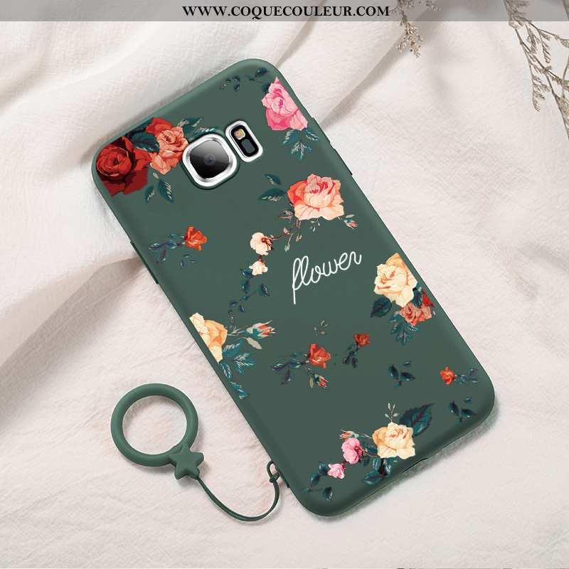 Housse Samsung Galaxy S7 Edge Fluide Doux Téléphone Portable Créatif, Étui Samsung Galaxy S7 Edge Pr