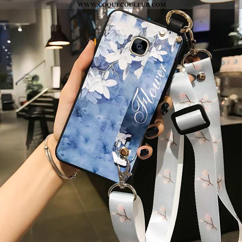 Coque Samsung Galaxy S7 Edge Personnalité Étoile, Housse Samsung Galaxy S7 Edge Silicone Bleu