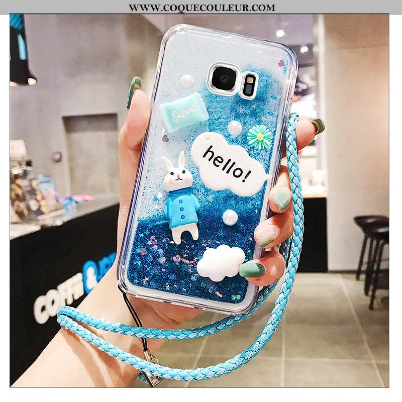 Housse Samsung Galaxy S7 Silicone Net Rouge Tout Compris, Étui Samsung Galaxy S7 Protection Quicksan