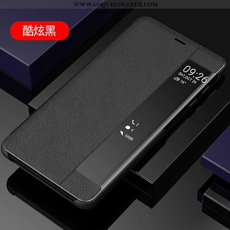 Coque Samsung Galaxy S7 Cuir Noir Étui, Housse Samsung Galaxy S7 Étoile